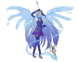 -Collab- Magical Girl Azura by Art-By-Ethera