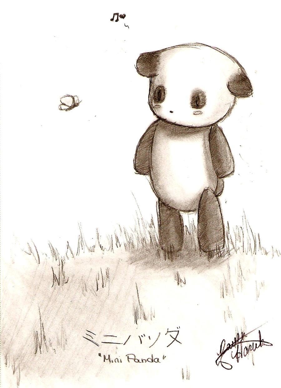 Chibi Panda By Ravenofthedark13