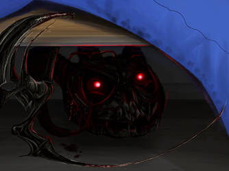 Its lurking under your bed by AnimositysDiviner