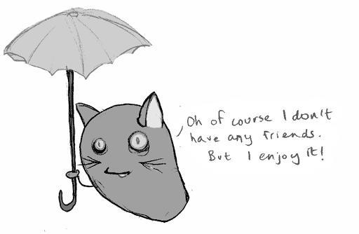 Bean Cat in Denial by annegwish33