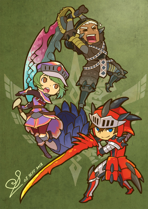 3hunters by Kiraneko