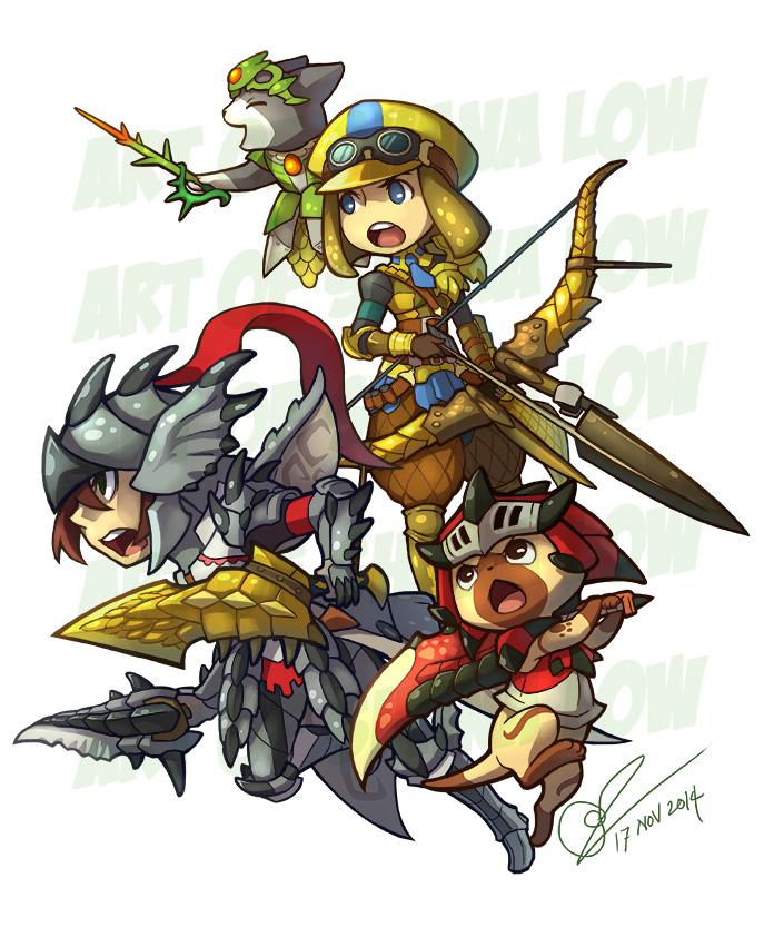 Monster Hunter Commission 2 by Kiraneko