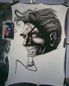Joker making of Number 1