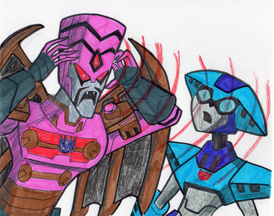 MINDWIPE, DECEPTICON VAMPIRE! by VectorMagnus2011