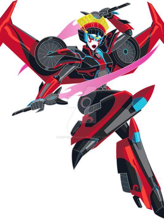 Robots In Disguise: Windblade! by VectorMagnus2011