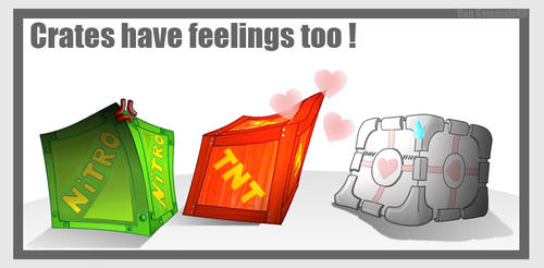 Crates have feelings