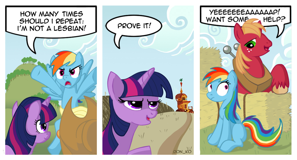 to prove or not to prove by Don-ko