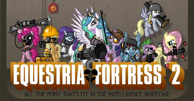 The MLP: FIM Thread - Page 2 Equestria_fortress_by_don_komandorr-d3h14le