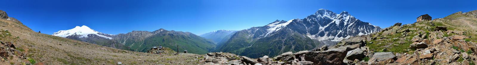 Mountains round panorama by Don-ko