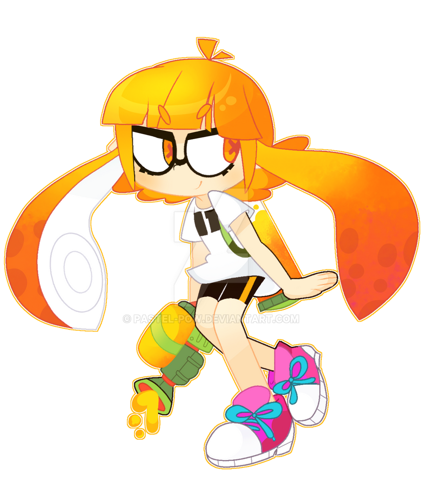Inkling Girl by Pastel-Pow