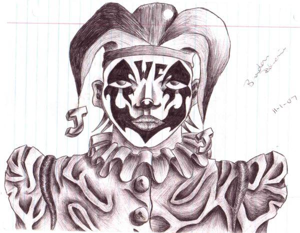 Juggalo face 2 by brandonroberie