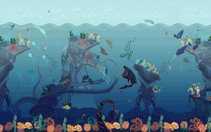 Jules Verne Google doodleremix by Kxmode