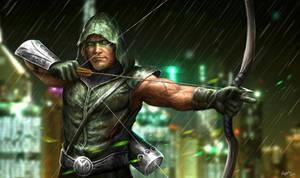 Green Arrow by Reffelia