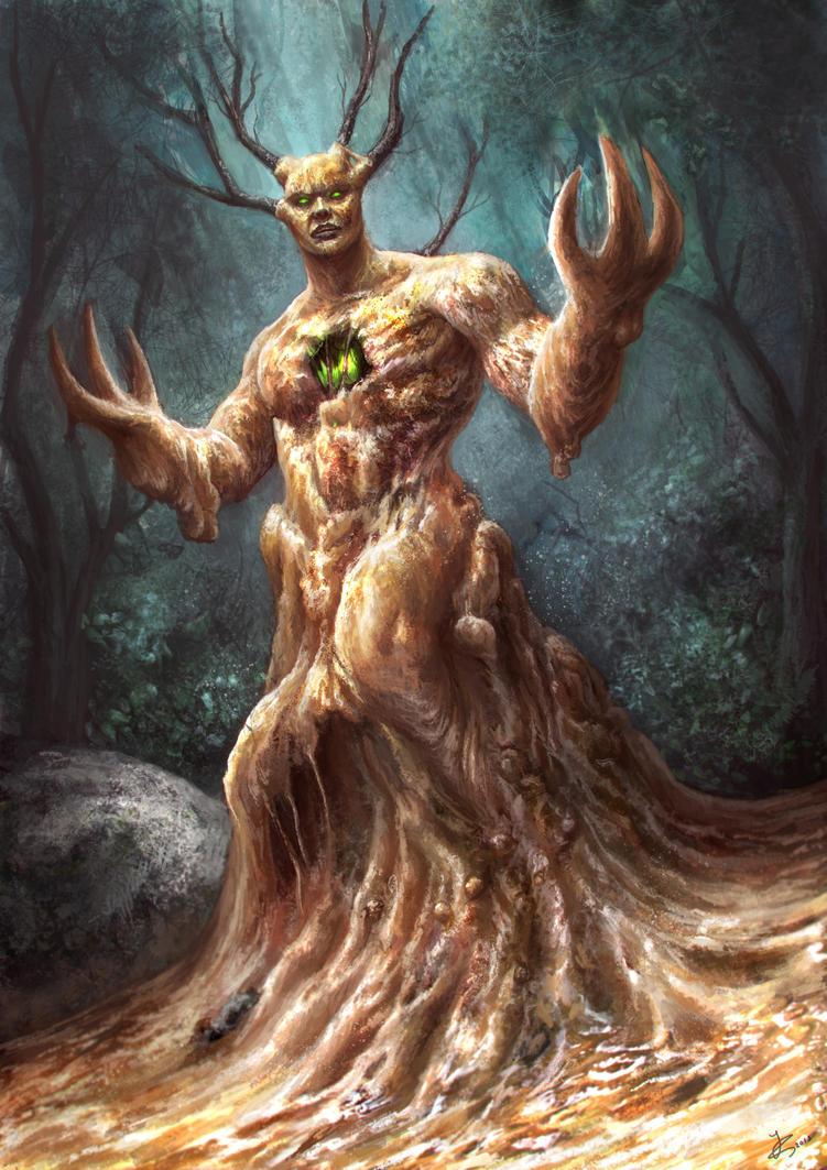 Swamp Demon by Reffelia