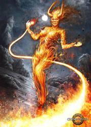 Fire Elemental 2013 by Reffelia