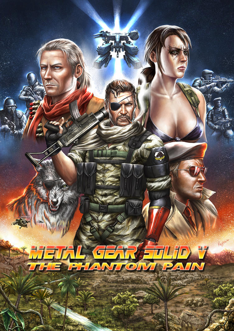 METAL GEAR SOLID V: The Phantom Pain. by Reffelia