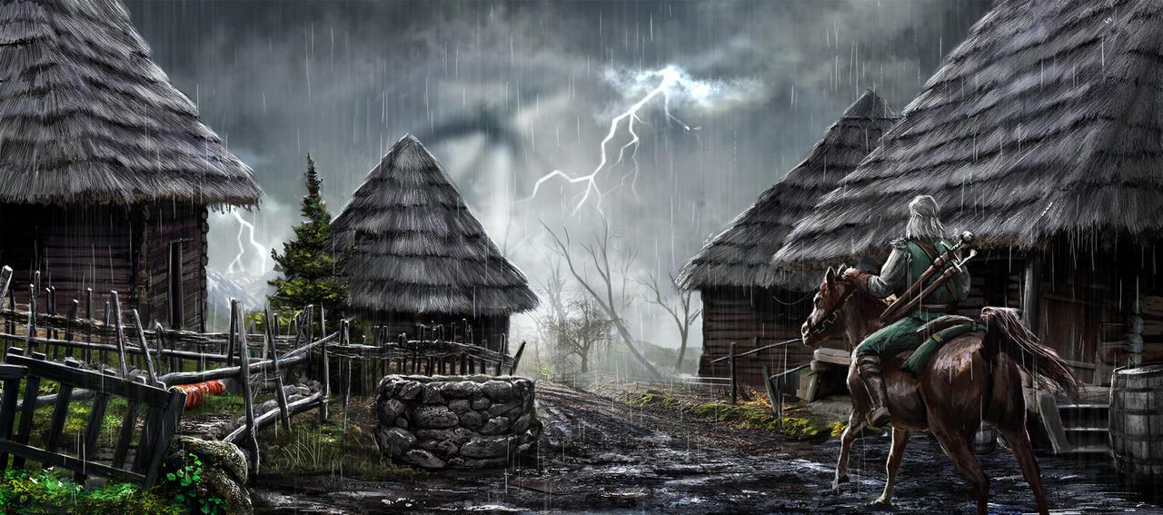 Witcher fan art by Reffelia