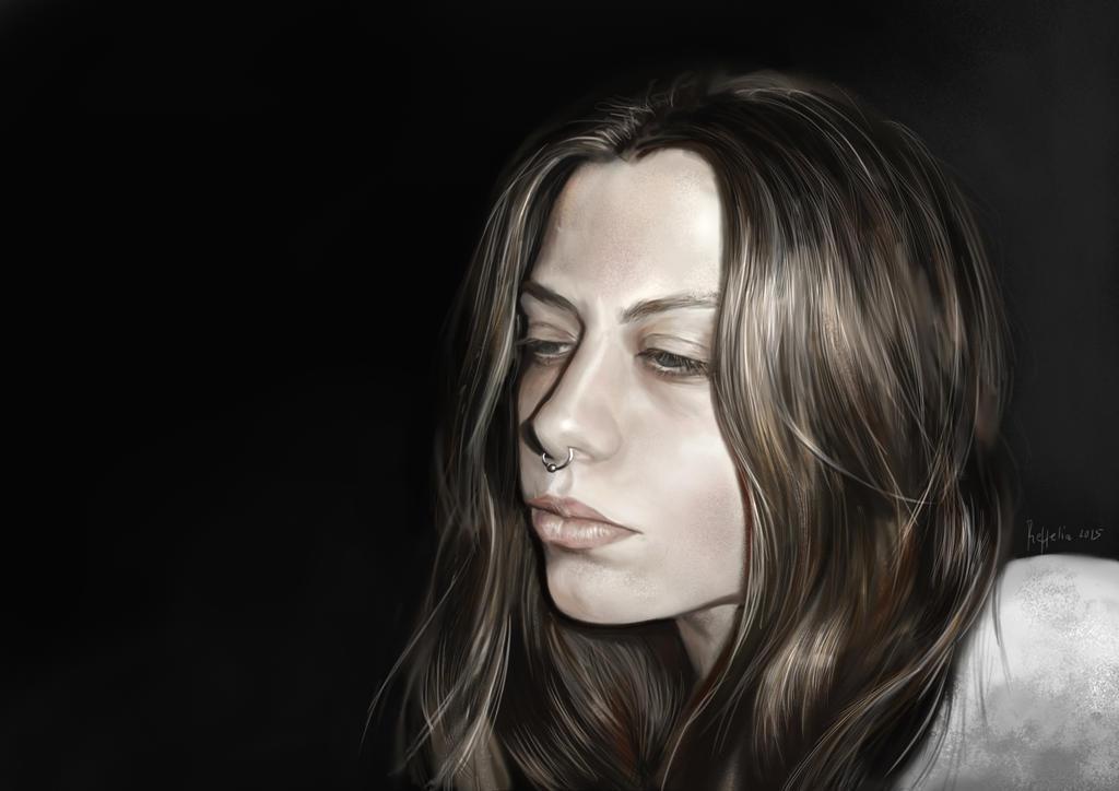 Study portrait 2015 by Reffelia