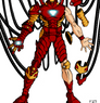 Iron Man Animated Coloring by DavidFCG