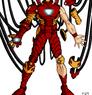 Iron Man Animated Coloring by DavidFCG