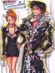 FMA- Roy Hawkeye cosplay HxH