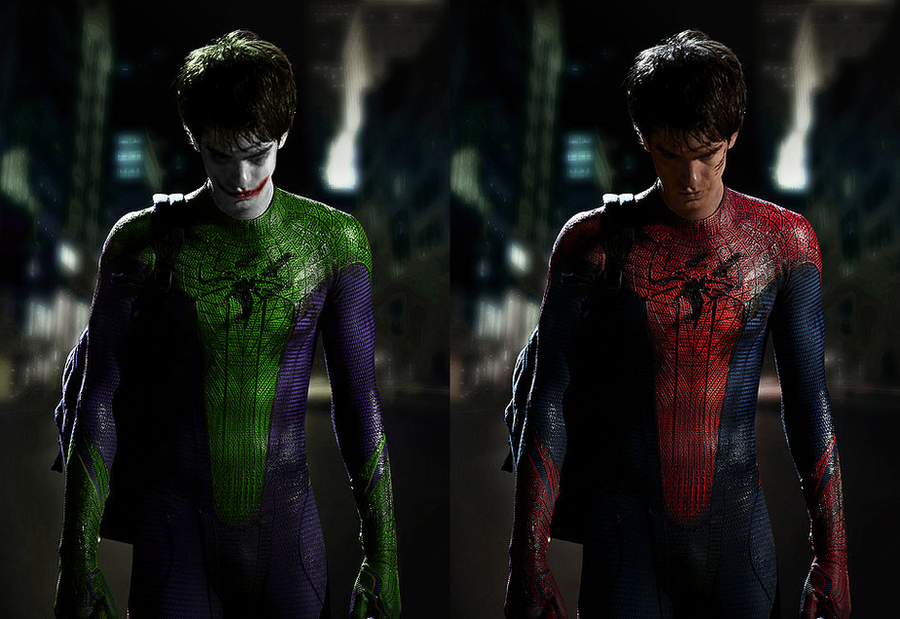 Spider-Man + Joker Mashup by RageKG