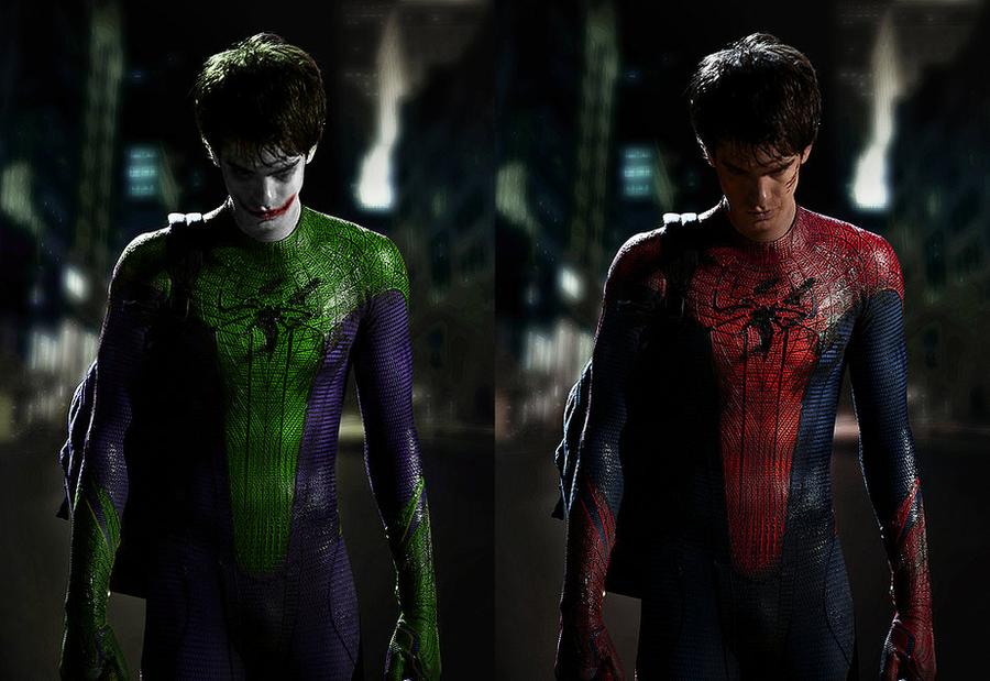 Spider-Man + Joker Mashup by RageKG