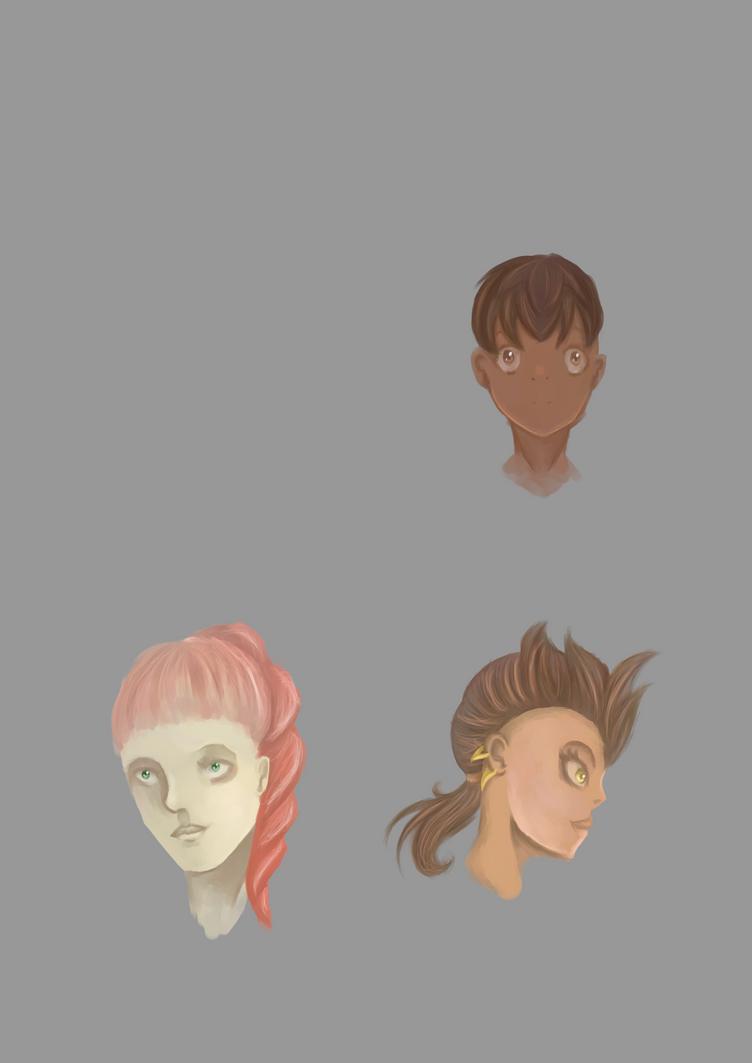 Portraits by skyrimfanatic
