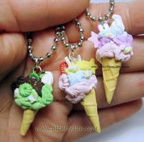mini ice cream by AlchemianShop