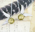 The Golden Snitch by AlchemianShop