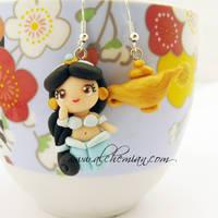 Jasmine Earrings by AlchemianShop