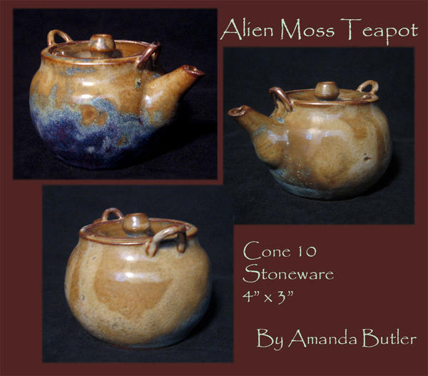 Alien Moss Teapot by DrunkenFairy