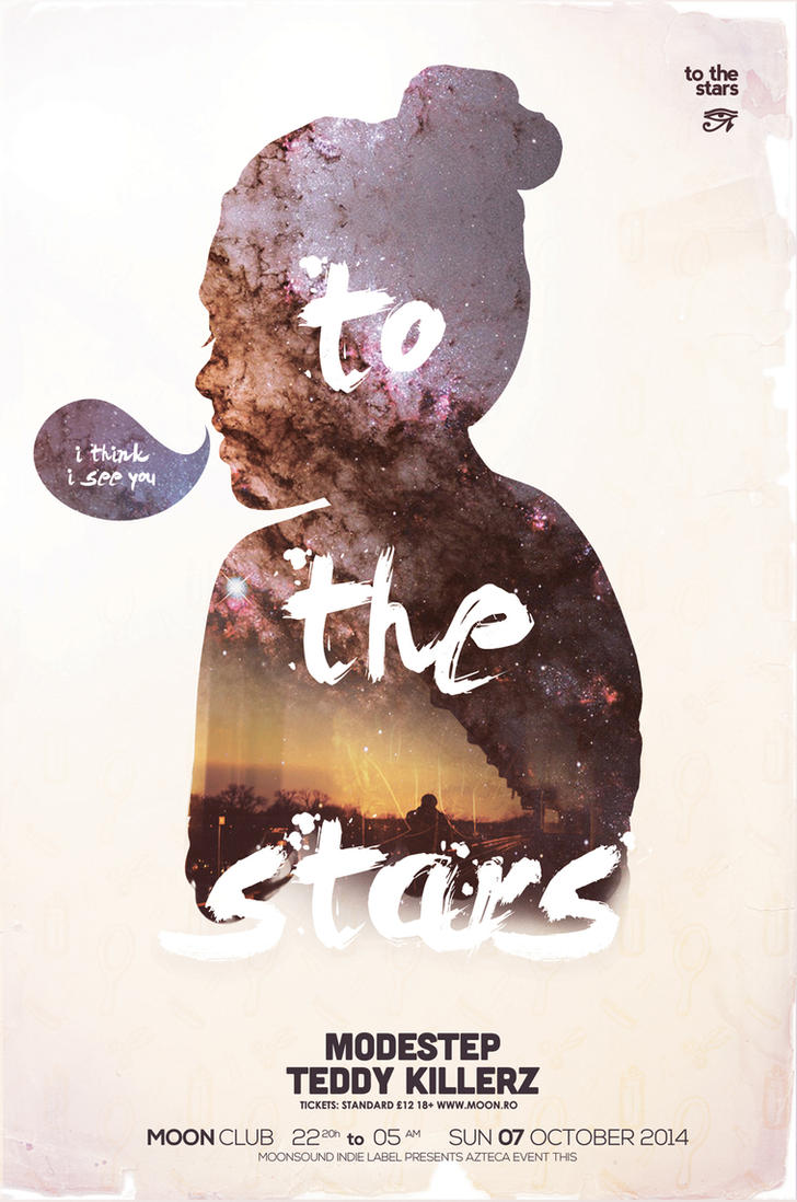 To the Stars Poster by DusskDeejay