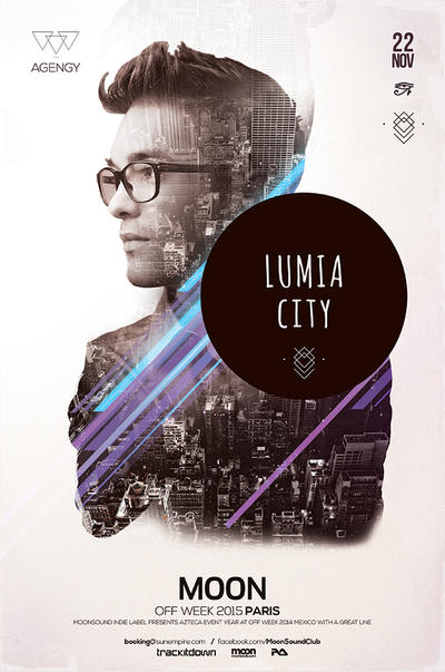 Lumia Poster by DusskDeejay