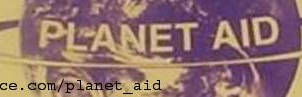 Planet Aid Banner