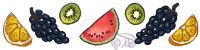 Divider of fruits for mintospirit by DesmodiaDesigns