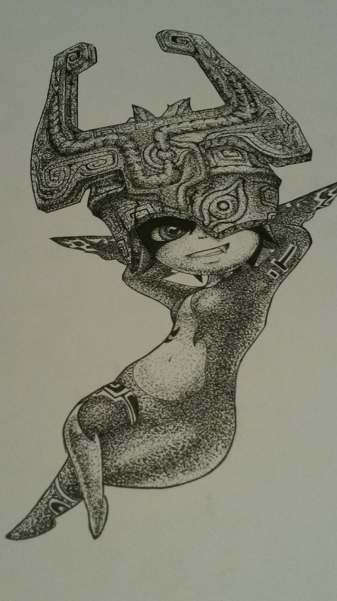 Stipple Midna by OtakuTiki