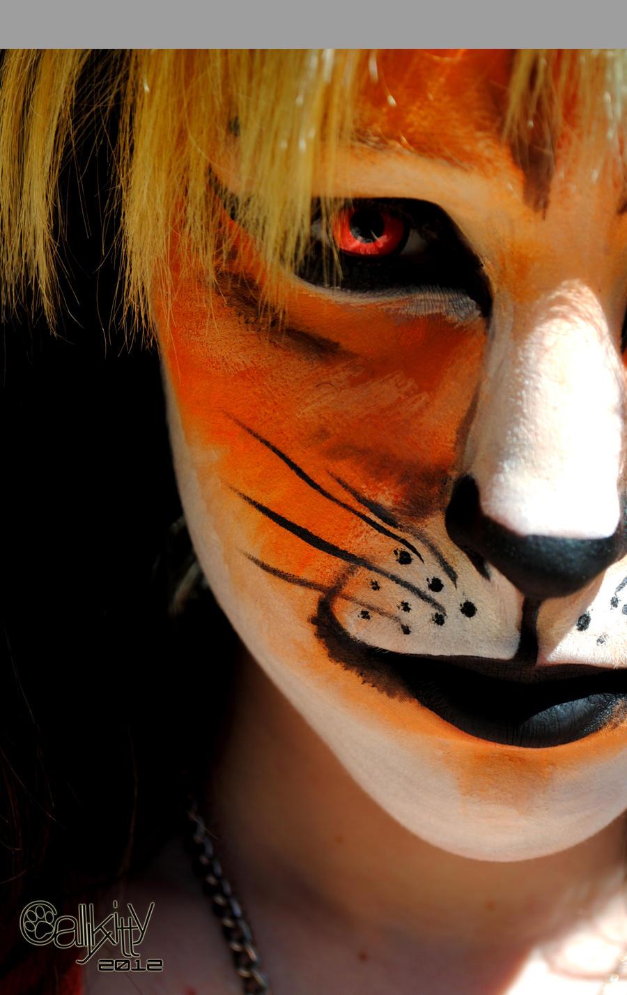 Fox Facepaint by CALLYKITTY
