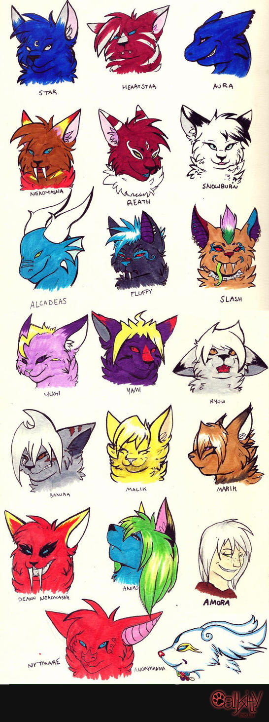 Nekoyasha12 Headshots by CALLYKITTY