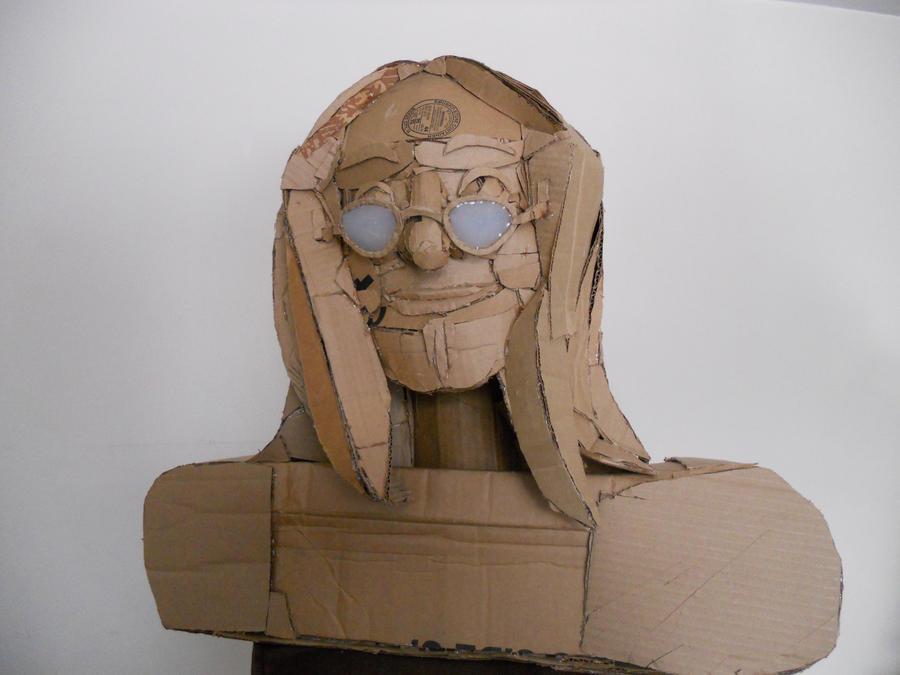 Geddy Lee Cardboard Sculpture
