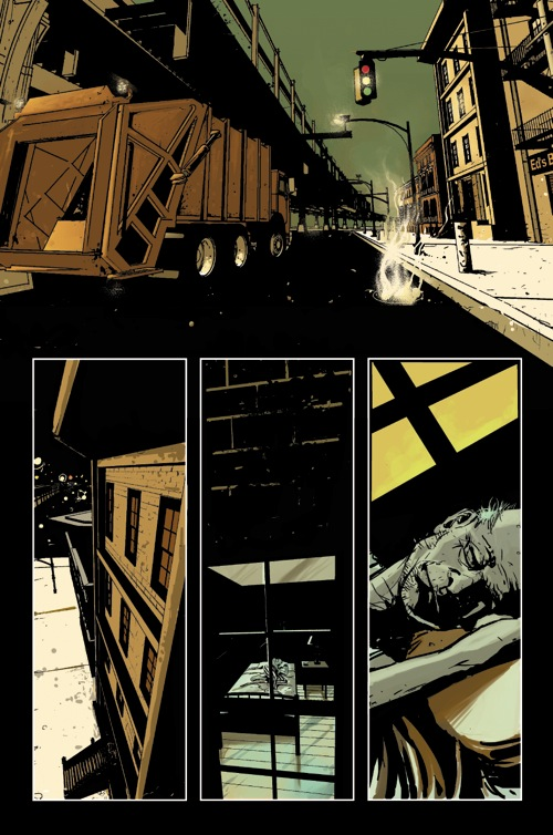 The Locksmith unlettered page 01 by SilviodB