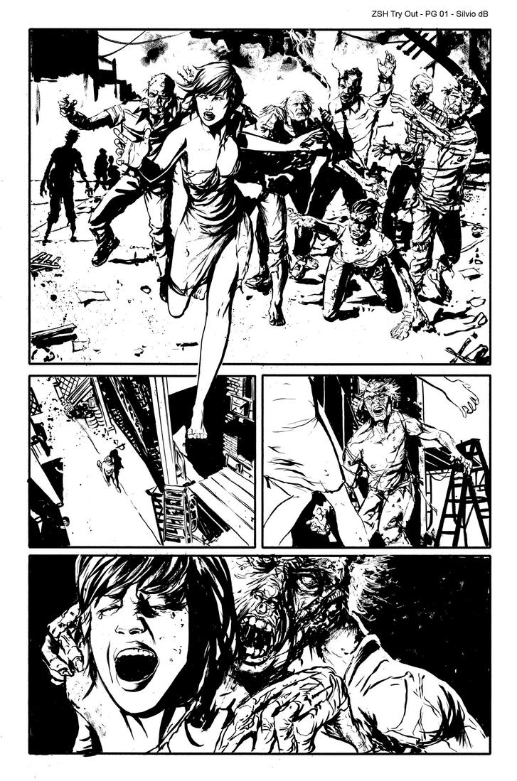 Zombies sample page by SilviodB