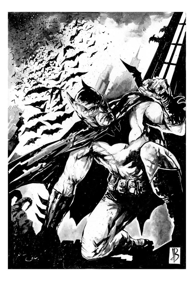 Batman Commission by SilviodB