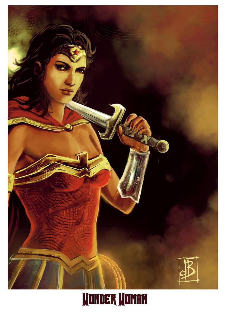 Wonder Woman by SilviodB