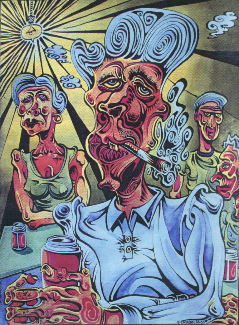The Drinkers by Germanicus-Fink