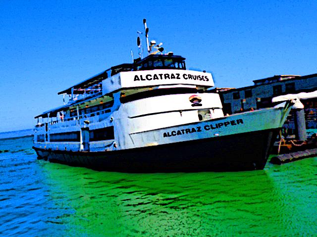 Alcatraz Cruises by Germanicus-Fink