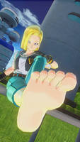 dragon ball xenoverse 2 barefoot 1