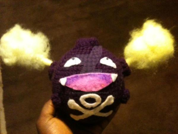 Crochet Koffing by blackdog393