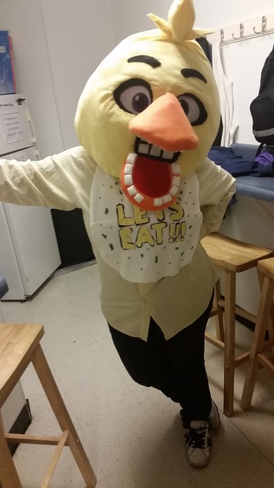 My halloween costume chica from fnaf by blackdog393 on deviantart