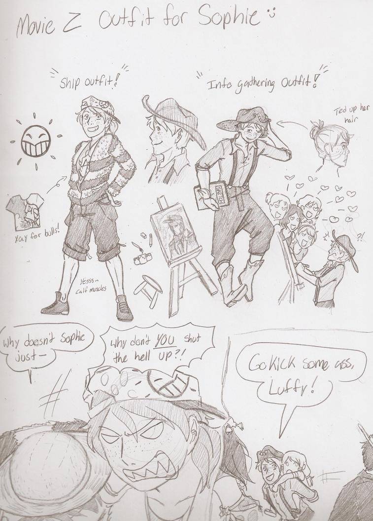 Movie Z Outfits by MonkeyDSophie